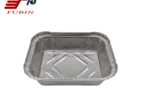 FB1417 550ml Carry-out Container //Rectangular Aluminium Foil Container