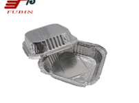 FB1616 470ml 6 inch Square pan // Aluminium Foil  Square Container and rectangular aluminium foil container