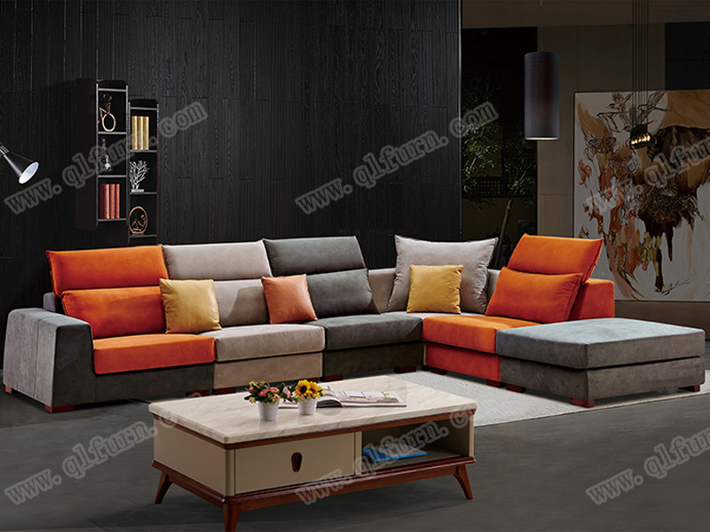 leather sofa 8806#