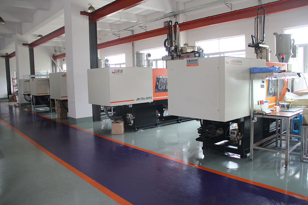 Tooling and injection molding department was officially established in next year.