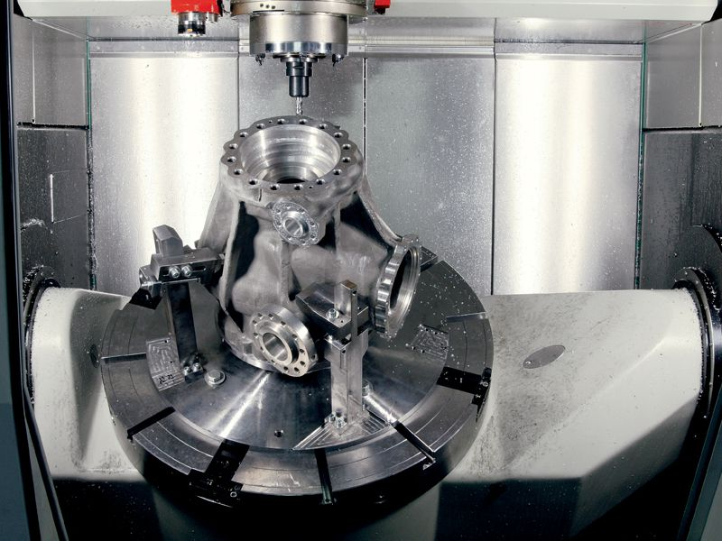 5 reasons to use 5-axis CNC machining