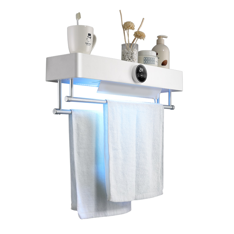 ZA-TRD1 0.5KW Digital Screen Touch Electric Uv Disinfecting Towel Dryer