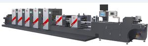 High Speed intermittent offset label printing machine manufactures