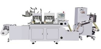 FY320 single and double station servo high speed flatbed die cutting machine