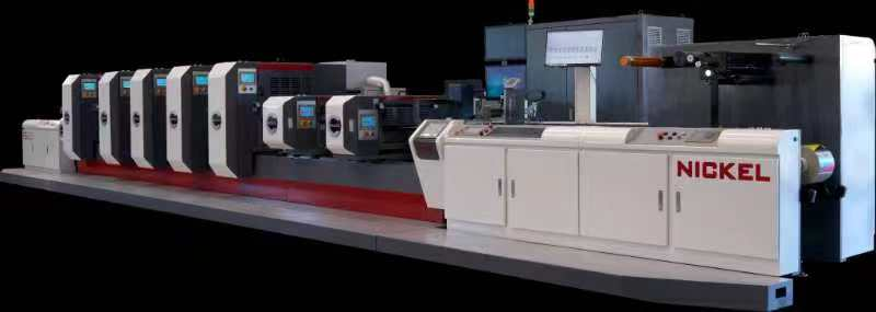 Nickel Intermittent Label Offset Printing Machine