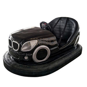 Floor-driven bumper car