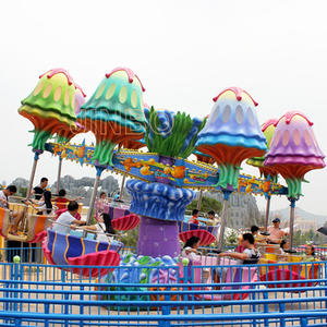 Professional Funfair Rides Samba Happy Swing Jellyfish for sale