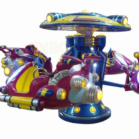 Children Funfair Park Small Games Machine Kids Lever Plane for Sale