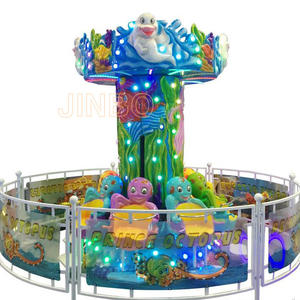 LED Lighting Octopus Jumping Ride For Shopping Mall