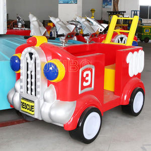 Professional Fire fighting truck ride for Shopping Mall for sale