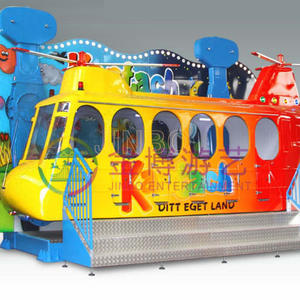 Wholesale amusement park crazy air bus rides manufacturer