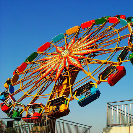 Amusement rides brave turntable for Shopping Mall