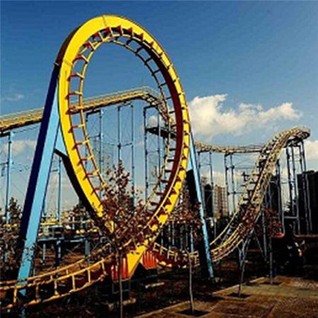 Outdoor 4 Rings and 6 Rings Large Roller Coaster