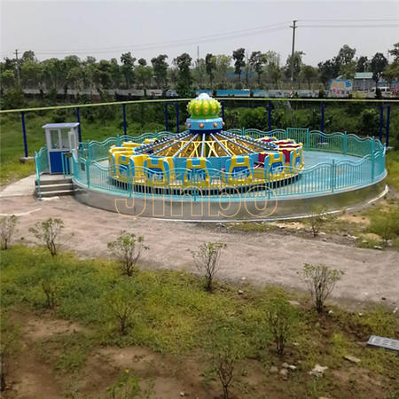 Outdoor Playground Theme Park Amusement Equipment Mill Turntable Rides Attractions Price for Sale
