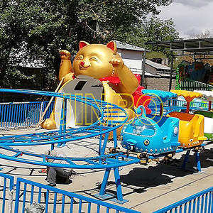 High Speed Attractive Amusement Park Child Roller Coaster