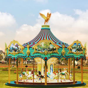 24 seats Luxury single deck merry go round