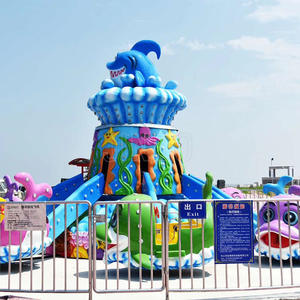 Outdoor Park Equipment Ocean Theme 16 Seats Self Control Jet Plane Ride Factory Price For Sale