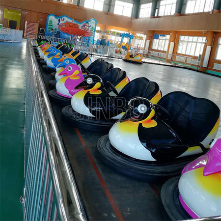Amusement Park Ground Grid Floor Driving Bumper Car for Adult and Kids
