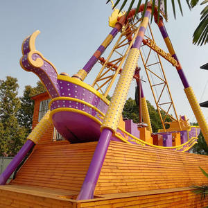 Outdoor Playground Amusement Park Full Specification And Capacity 24 Seats Pirate Ship Viking Ride Manufacturer And Supplier In Guangdong China