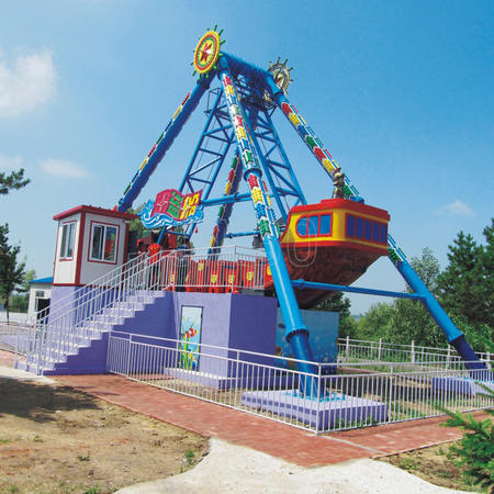 Outdoor Theme Park Attractions 36 to 40 Seats Pirate Ship Ride Manufacturer and Supplier in Guangdong China