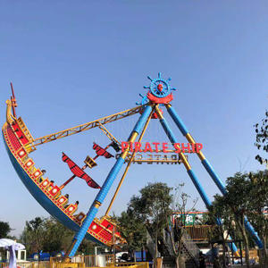 Outdoor theme park attractions full specification and capacity 36 to 40 seats pirate ship ride manufacturer and supplier in Guangdong China