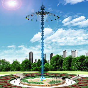 50m amusement park flying tower rides