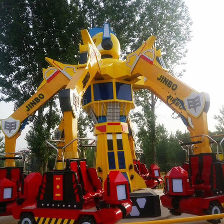 Newest Amusement Equipment Ride Design Iron Man Transformers Robot Ride for Sale