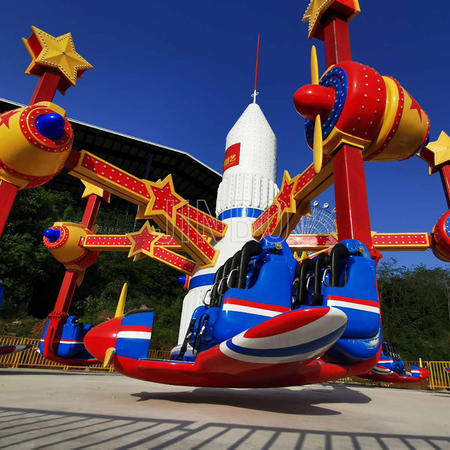 Jinbo amusement equipment factory luna park new attractions air race ride sports racing ride for sale