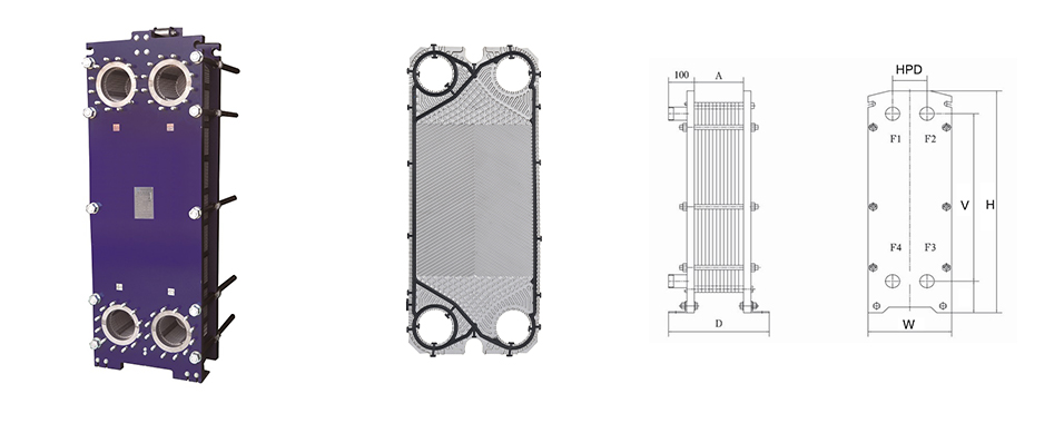 Thermowave Plate Heat Exchanger Gasket