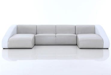 Sofas 0916 OEM Leather Sectional Sofa