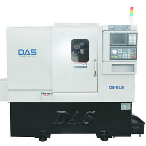 Precision machining Automatic CNC Lathe DS-6LS Manufacturer