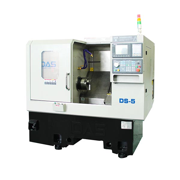 DS-5 Slant Bed CNC Lathe With High Precision For Lighting Hardware