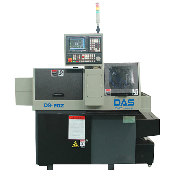 DS-20Z Double Spindle Swiss Type CNC Lathe With High Rigidity