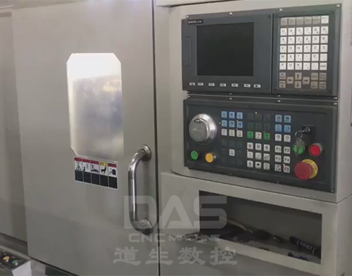 CNC Lathe Turning With Bar Feeder