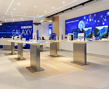 Samsung-Experience & Display Table