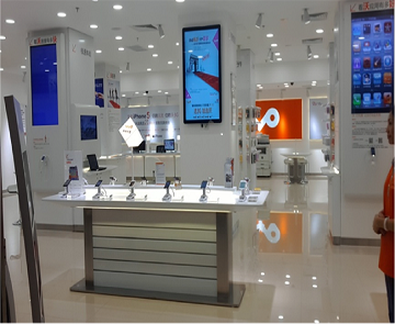 China Unicom-Cell Phone Store Fixtures Display