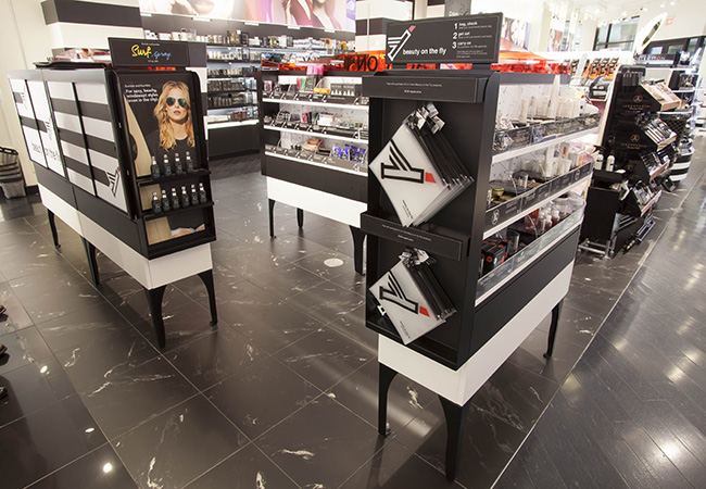 Sephora-BOTF Store Beauty Retail Fixtures