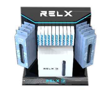 Single-piece Display Rack of RELX