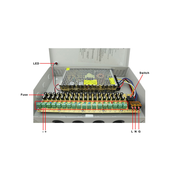SB-120W-12-18 Switch Mode DC Power Supply