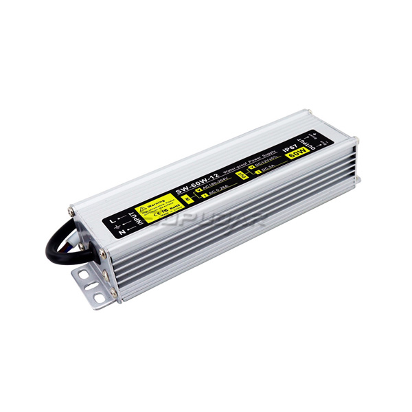 SW-60W-12 Waterproof LED Power Supply 12V