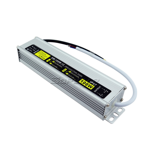 SW-100W-12 Waterproof LED Power Supply IP67