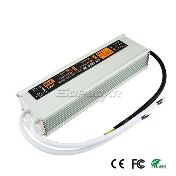 SW-200W-24 Multiple Output Power Supply