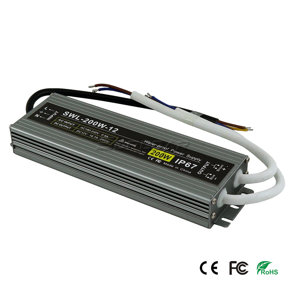 SWL-200W-12 200W Slim Power Supply Switch