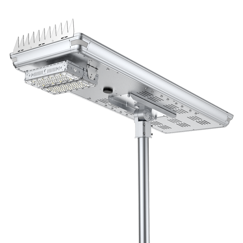 WSL-E Integrated Solar Powered LED Solar Streetlight (Support Remote Control)