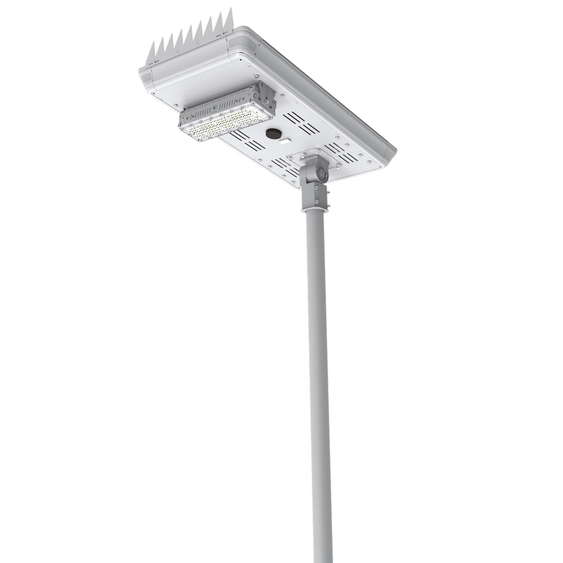 WSL-E Integrated Solar Powered Solar Streetlight (Support Remote Control)
