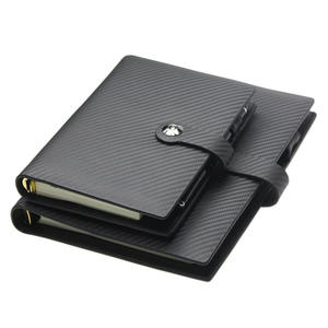 Cowhide Leather Loose Leaf Notebook Stone Paper YH - ZH803/703