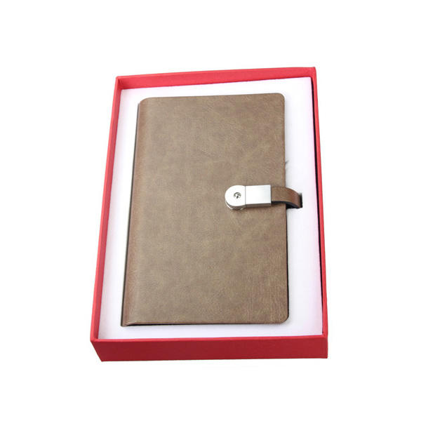Pull-up Leather Multi-functional Loose-leaf Waterproof Paper Notebook DS04-H824