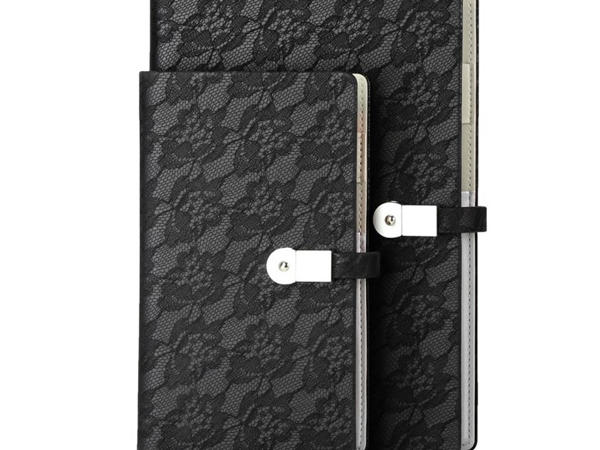 Lace Pull-up PU Loose-leaf Multifunctional Stone Paper Notebook Staples DS05 - H737/837