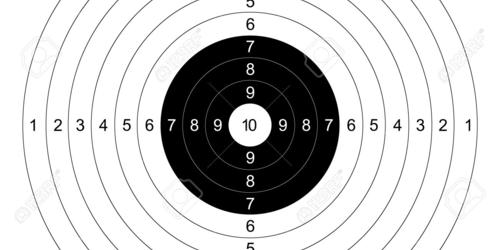 Ordinary orange shooting targets are generally made of what materials