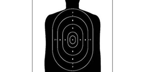 What material is used for indoor shooting range target